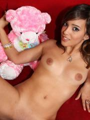 Teen cutie Melanie Jane works on the cock and loves every inch