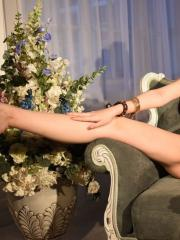 """Erotic model Lily flashes you in """"Marchesa"""""""