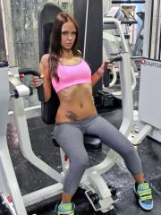 Bailey Knox aims to misbehave at the gym