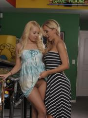 Cherie and Aaliyah hook up for a game night that quickly turns into something more