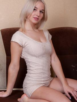 gretta-kovak blonde dress non-nude