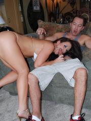 Jayden Jaymes goes for broke in this hot and sweaty amateur scene!