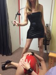 Alex Chance and her sorority sisters have a hot fetish party