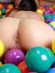 Molly Jane and her friends make a ball pit in their dorm to have sex in