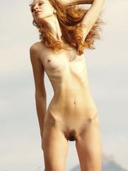 """Redhead beauty Lu Novia exposes herself in """"Hot With a View"""""""