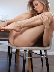 Blonde babe Patritcy A has something delicious to serve you