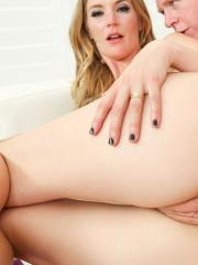 Redhead girl Mona Wales gets her ass fucked hard
