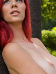 Pictures of Ariel totally nude and loving it