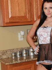 Freckles 18 is cooking you something special in the kitchen
