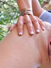 Lila gets horny on her walk and returns home to masturbate