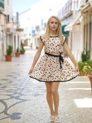"""Blonde teen Chloe Toy masturbates for you in """"Cutie In The White"""""""