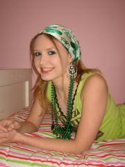 Happy Saint Patricks day from petite teen Shelby
