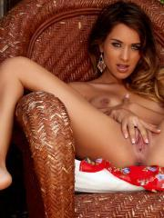 Gorgeous girl Uma Jolie spreads her legs and touches herself in Wild Child