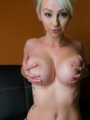 """Blonde hottie Jana Fox gets naked and plays with herself in """"Carefree"""""""
