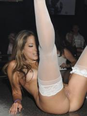 Pictures of Jenna Haze being a stripper bride