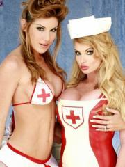 Jessica Jaymes gets super kinky with her naughty nurse crew