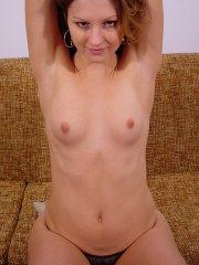 Pictures of Josie Model waiting for you on the couch