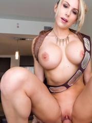 Busty blonde Katie Banks gives POV sex in Star Companion
