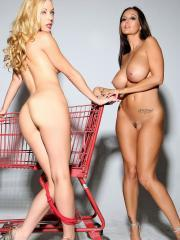 Ava and Kayden are ready for shopping but it's time to get naked first