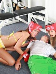 Pictures of Little Caprice fucking the gym