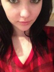 Mellisa Clarke strips her checked shirt to show you her titties