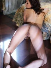 Yarina A's gorgeous body accenatuated by her flattering lingerie