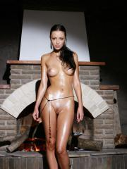 Gorgeous girl Anna AJ shows you her super wet pussy