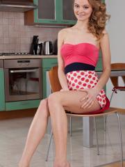 Pretty girl Patritcy A is ready to serve you up something awesome