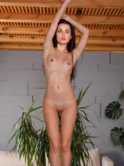 "Gorgeous girl Amelie B shows you her amazing nude body in ""Buird"""