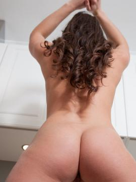 Alina Valera in Kitchen Fun