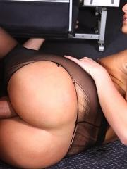 Pictures of Mischa Brooks getting fucked on an aeroplane