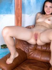 Horny amateur Ko Ko drills her fingers deep into her puffy bald pussy