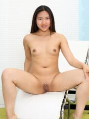 Mai Thai gets fully nude and spreads her wet pussy for you