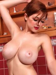 Tessa Fowler follows up her debut with a shoot in purple