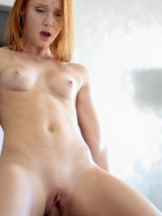 Cute Redhead Alex Tanner wakes up with an urge to masturbate and fuck