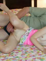 Hot teen Kennedy Kressler gets fucked by an old guy