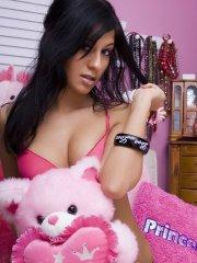Pictures of Raven Riley waiting for you in bed