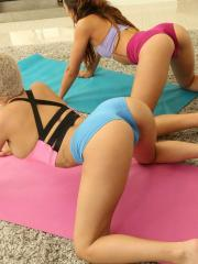 Reality Kings presents Aaliyah Hadid in Yoga Assistant