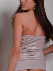 Teenage Shyla shows off her amazing body in a tight dress that she wore to the club