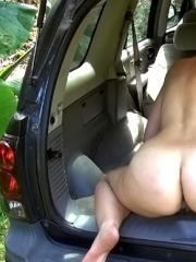 Nerdy amateur Chase gets picked up in a parking lot and fucked