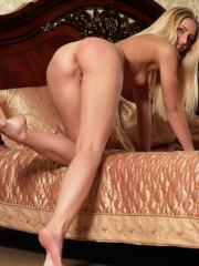 """Blonde hottie Roxy G poses nude for you in """"Suggestion"""""""