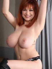 Bed and Boots Tease Action With Tessa Fowler