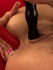 Tory Lane DPs herself with toys