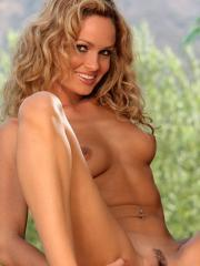 Prinzzess Sasha stripping and teasing outdoors