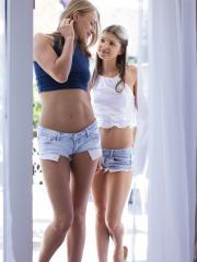 Ivana Sugar and Gina Gerson spends all day exploring each other