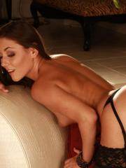 Eva and Margot team up for some wild lesbian action