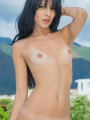 New talent Atenas gives you her hot nude body